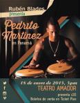 Rubén Blades presenta a Pedrito Martínez