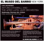 Aturo O'Farrill & ALJO en El Museo