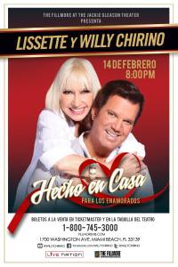Lissette y Willy Chirino en Miami Beach, Florida, Estados Unidos