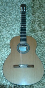 Una guitarra Pablo