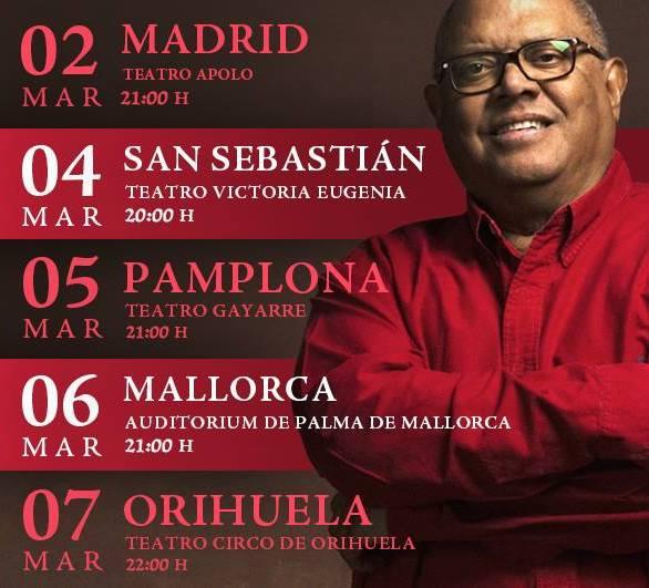 """Pablo Milanés, gira """"Renacimiento"""" en España"""