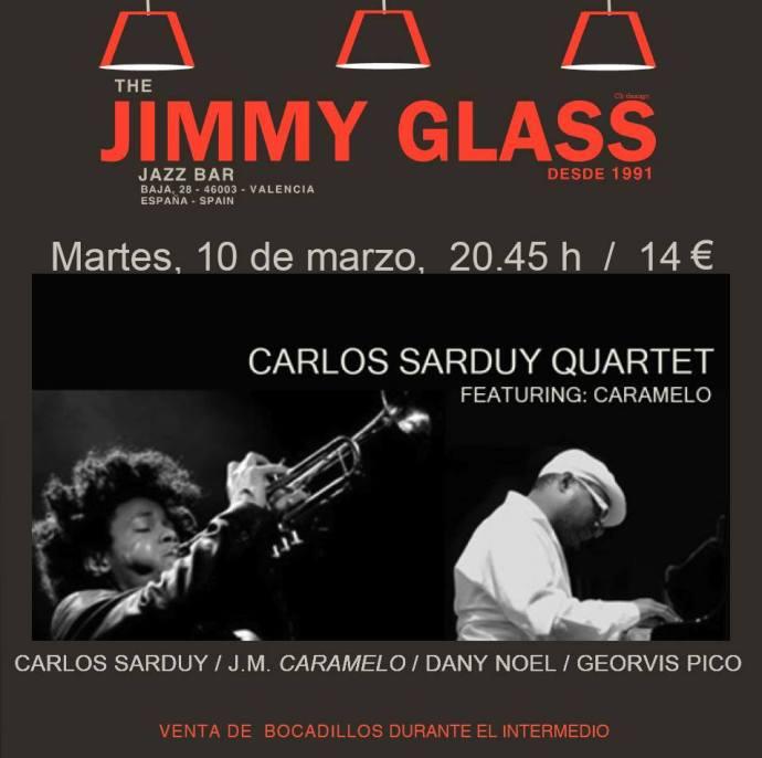 Carlos Sarduy Quartet en Valencia