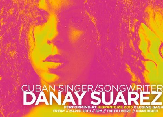 20 de marzo - Danay Suárez en el Hispanicize en Miami Beach