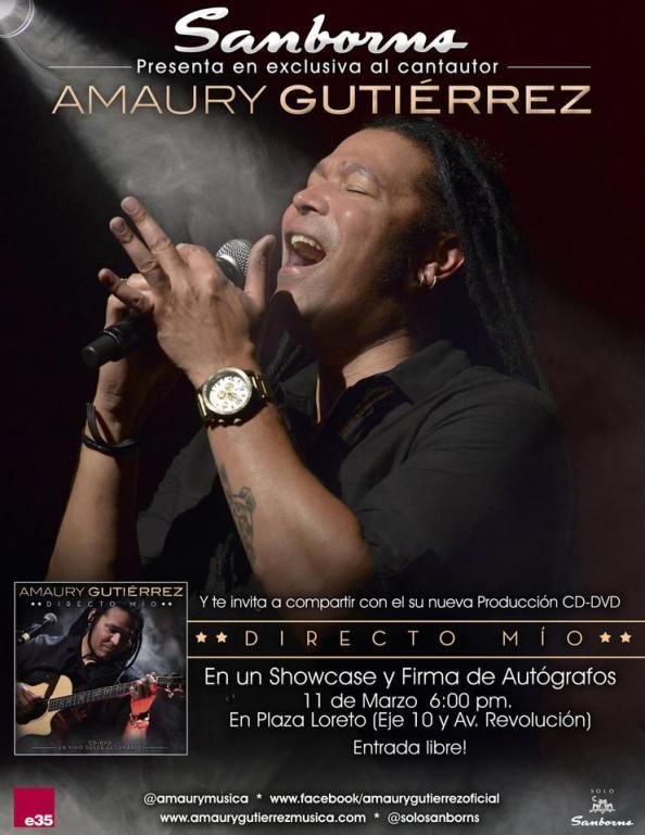 """Presentación y firma de autógrafos de su CD-DVD """"Directo Mío"""""""