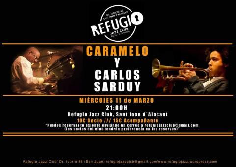"""Javier """"Caramelo"""" Massó y Carlos Sarduy en Alicante"""