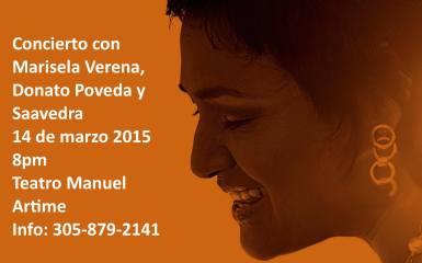 Gema Corredera, Donato Poveda, Marisela Verena y Saavedra en Miami