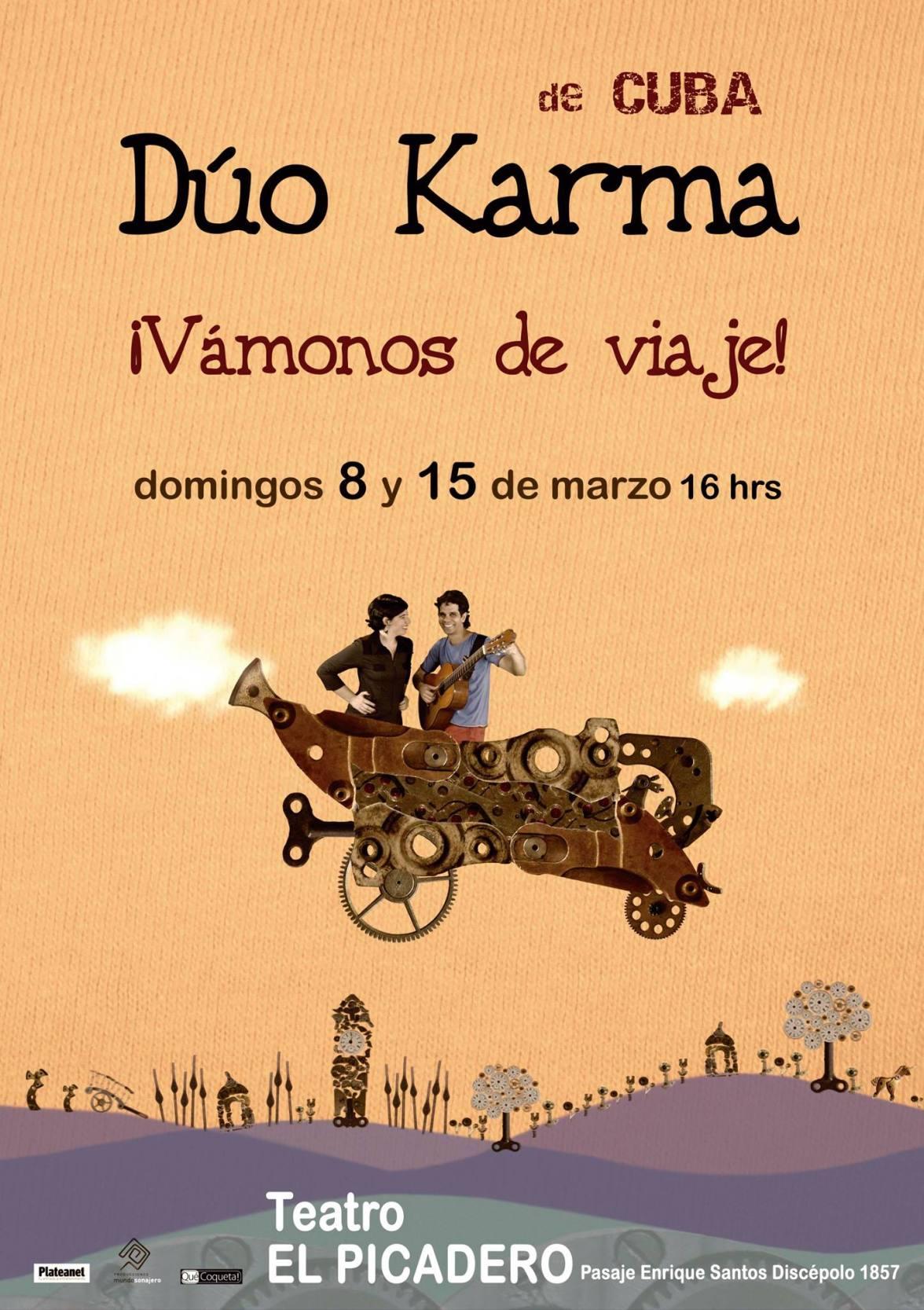 Dúo Karma en Buenos Aires