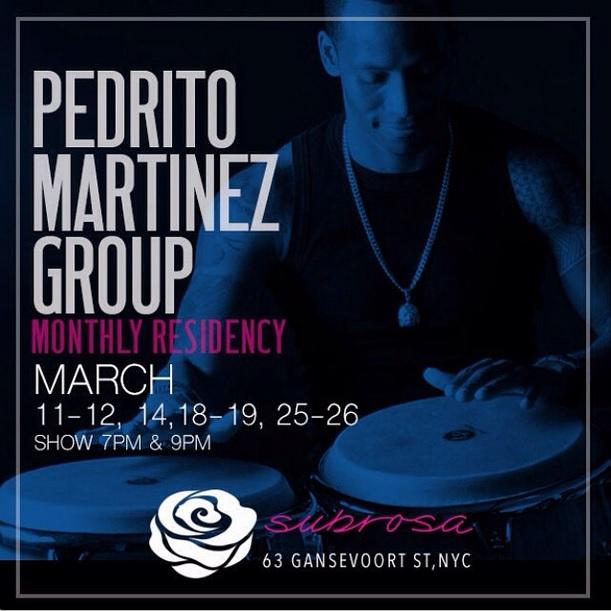Residencia en marzo - PMG en el club Subrosa de Nueva York