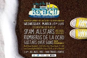 25 de marzo - Spam Allstars en Miami Beach