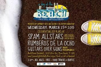 25 de marzo - Spam Allstars en Miami Beach