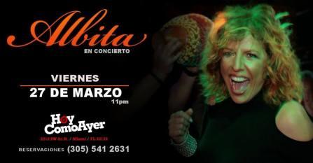 27 de marzo - Albita en Miami