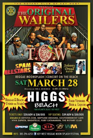 28 de marzo - Spam Allstars en Key West, Florida