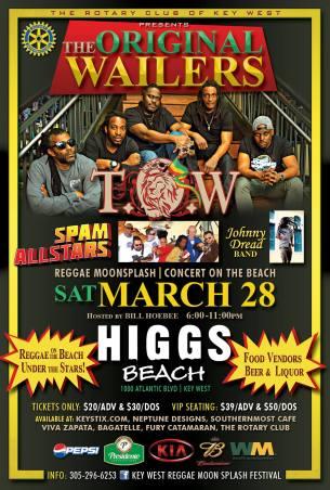 28 de marzo - Spam Allstars en Key West, Florida
