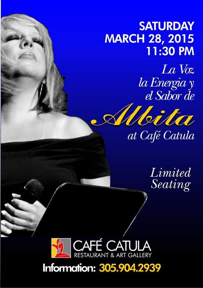 28 de marzo - Albita en Miami