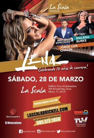 28 de marzo - Lena Burke en Miami