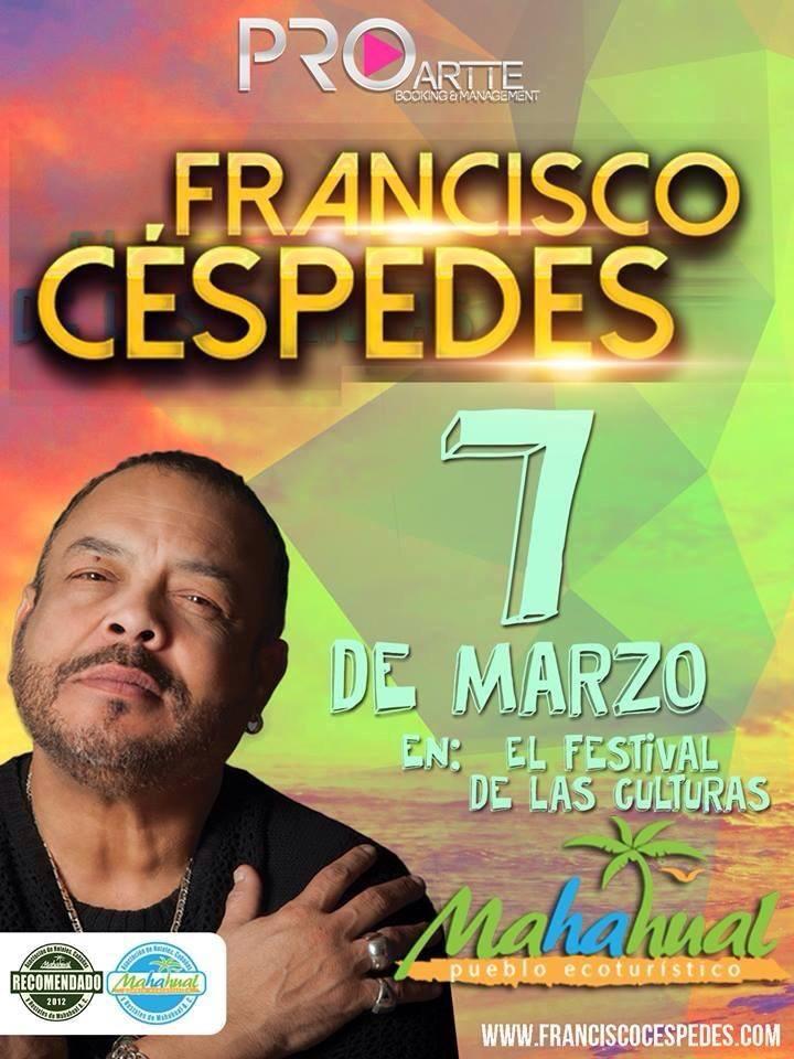 En el marco del Festival Mahahual Cruzando Fronteras 2015, el 07 de marzo a las 21:00 horas (CST)