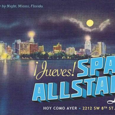 """Cada jueves Spam Allstar cumple su residencia en el club """"Hoy Como Ayer"""" a partir de las 23:00 horas (EST)"""
