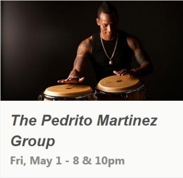 01 de mayo - Pedrito Martínez Group en Subrosa de Nueva York