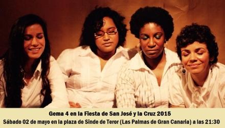 02 de mayo - Gema 4 en Plaza de Sinde de Teror, Las Palmas de Gran Canaria