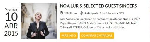 Con Pepe Rivero (piano) y Michael Olivera (batería)