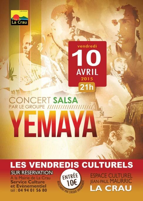 10 de abril - Yemayá en La Crau, Toulon