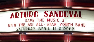 11 de abril - Arturo Sandoval y ASI 2015 All Star Jazz Band en Glendale, California