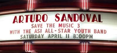 11 de abril - Arturo Sandoval y ASI 2015 All Star Jazz Band en Glendale, California