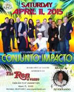 11 de abril – Conjunto Impacto en The Ren de Miami, Florida