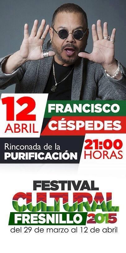 12 de abril - Francisco Céspedes en Fresnillo, Zacatecas
