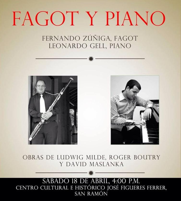 18 de abril - Leonardo Gell y Fernando Zúñiga en San Ramón