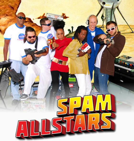 18 de abril - Spam Allstars en Baily Contemporary Arts de Pompano Beach, Florida
