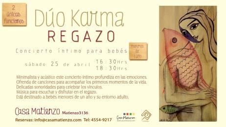 25 de abril - Dúo Karma en Casa Matienzo de Buenos Aires, CABA