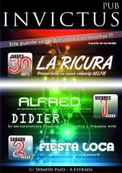30 de abril - La Ricura en Invictus de La Estrada, Pontevedra