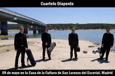 09 de mayo - Cuarteto Diapente en la Casa de la Cultura de San Lorenzo del Escorial, Madrid