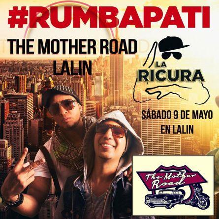 09 de mayo - La Ricura en The Mother Road en Lalín, Pontevedra