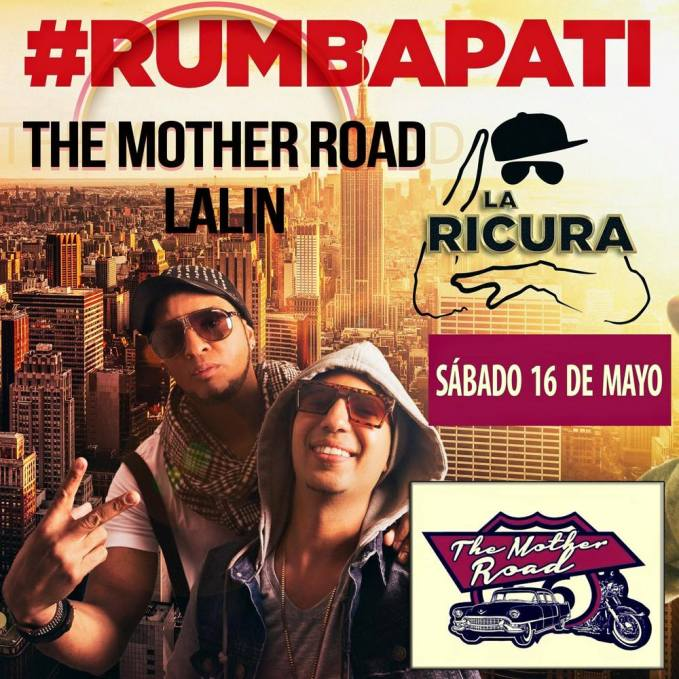 16 de mayo - La Ricura en The Mother Road de Lalin, Pontevedra