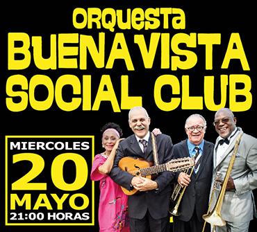 20 de mayo - Buena Vista Social Club en el Teatro Caupolicán de Santiago de Chile
