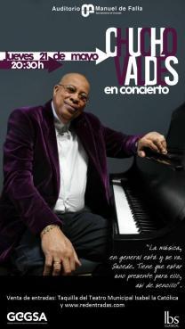 21 de mayo - Chucho Valdés en el Auditorio Manuel de Falla de Granada