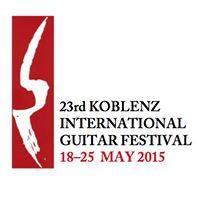 21 de mayo - Manuel Barrueco en el Rhein-Mosel-Halle, Rheinsaal de Koblenz