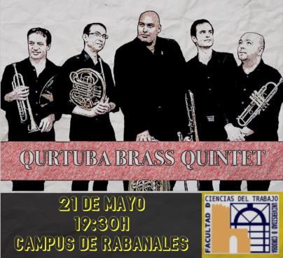 21 de mayo - Qurtuba Brass Quintet en el Campus de Rabanales de la Universidad de Córdoba