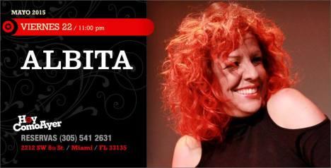22 de mayo - Albita en Hoy Como Ayer de Miami, Florida