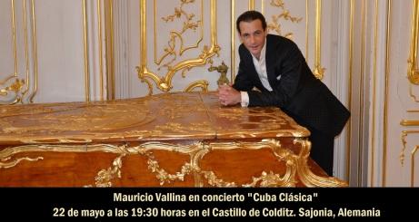 22 de mayo - Mauricio Vallina en el Castillo de Colditz de Sajonia