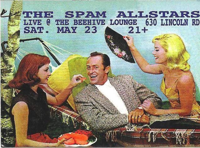 23 de mayo - Spam Allstars en Beehive Lounge de Miami, Florida
