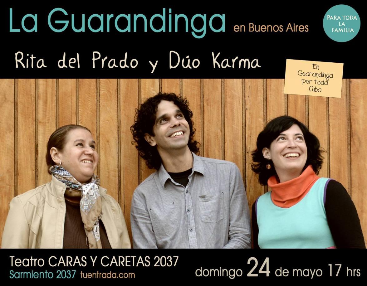 24 de mayo - La Guarandinga en Teatro Caras y caretas de Buenos Aires