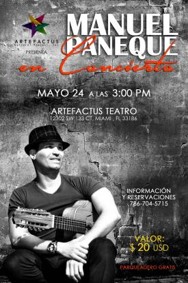 Imagen promocional del concierto