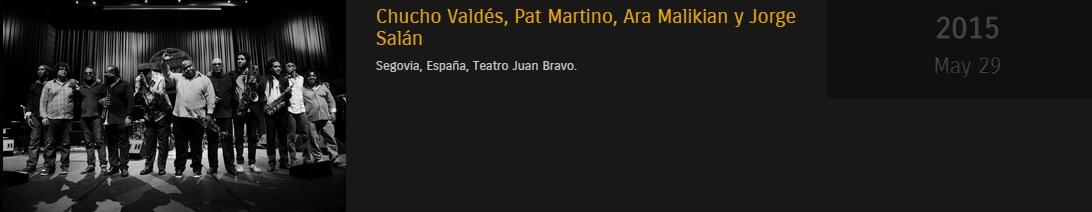29 de mayo - Chucho Valdés en el Teatro Juan Bravo de Segovia