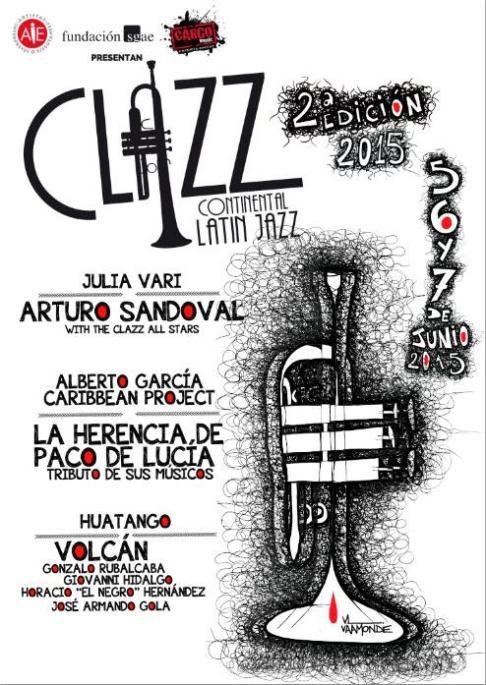05-07 de junio - Arturo Sandoval, Volcán, La Herencia de Paco De Lucía y + en el Continental Latin Jazz de México