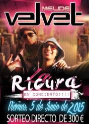 05 de junio - La Ricura en Velvet de Melide, La Coruña