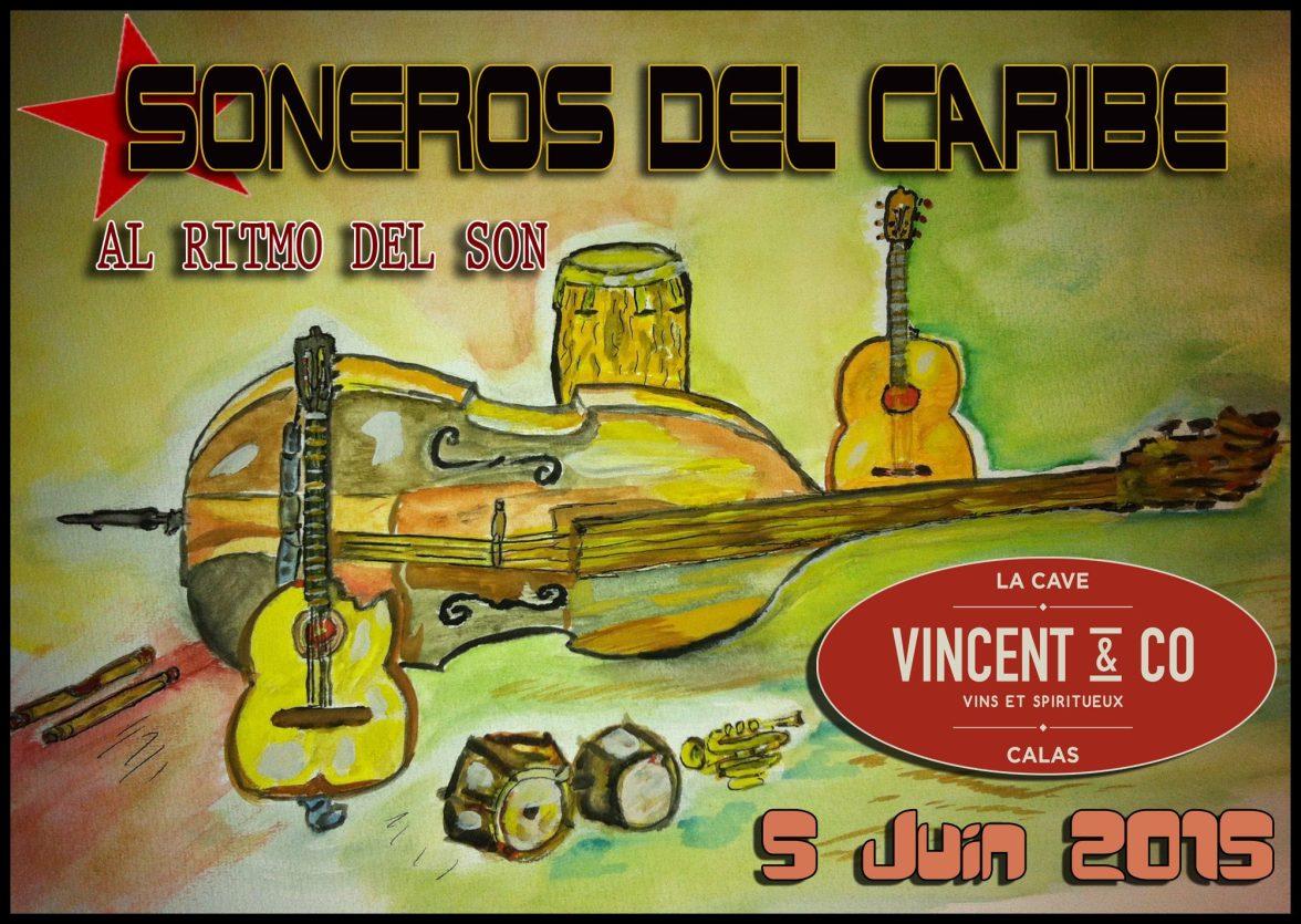 05 de junio - Soneros del Caribe en Vincent & Co de Calas, Cabriès