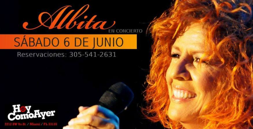 06 de junio - Albita en Hoy Como Ayer de Miami, Florida